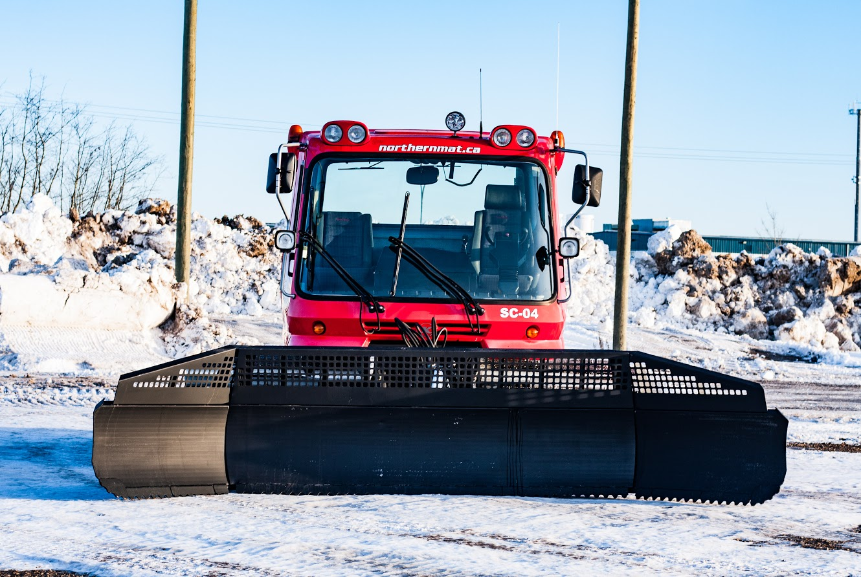 Winter Access Road Construction