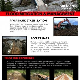 Flood Mitigation and Management – Northern Environmental Access Services