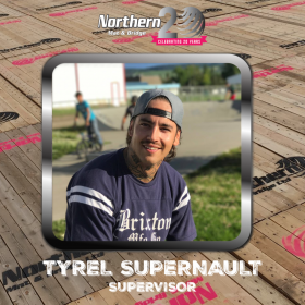 Employee Spotlight: Tyrel Supernault